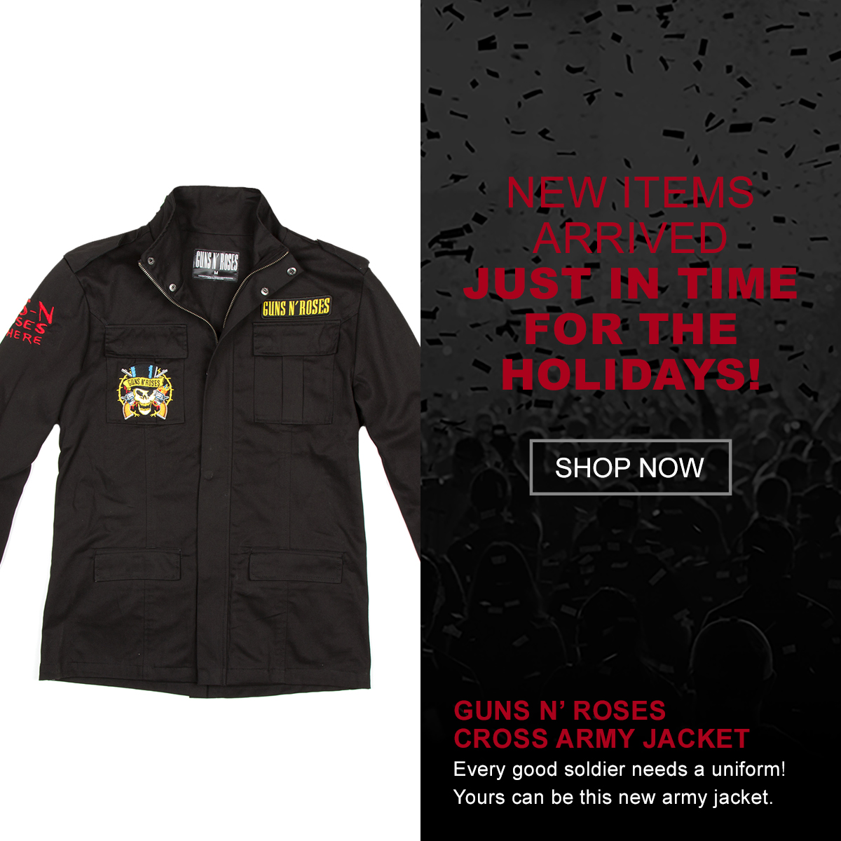 Guns N' Roses Army Jacket. Shop.