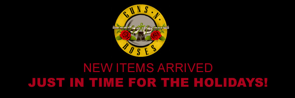 Guns N' Roses - New items arrived just in time for the holidays!