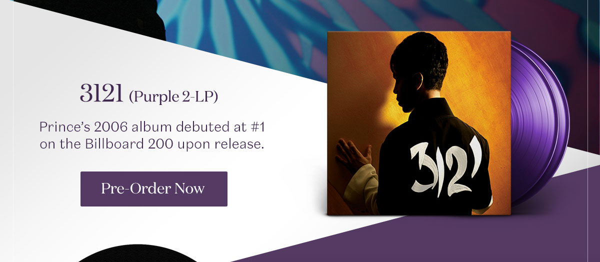3121 (Purple 2-LP). Pre-Order Now.