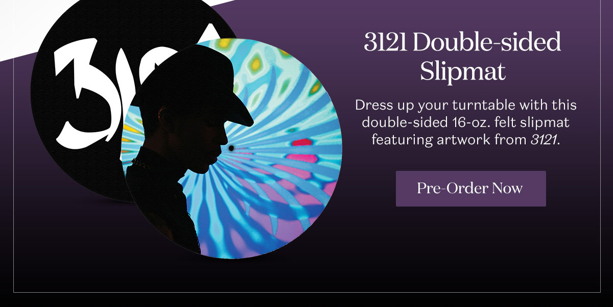 3121 Double-sided Slipmat. Pre-Order Now.