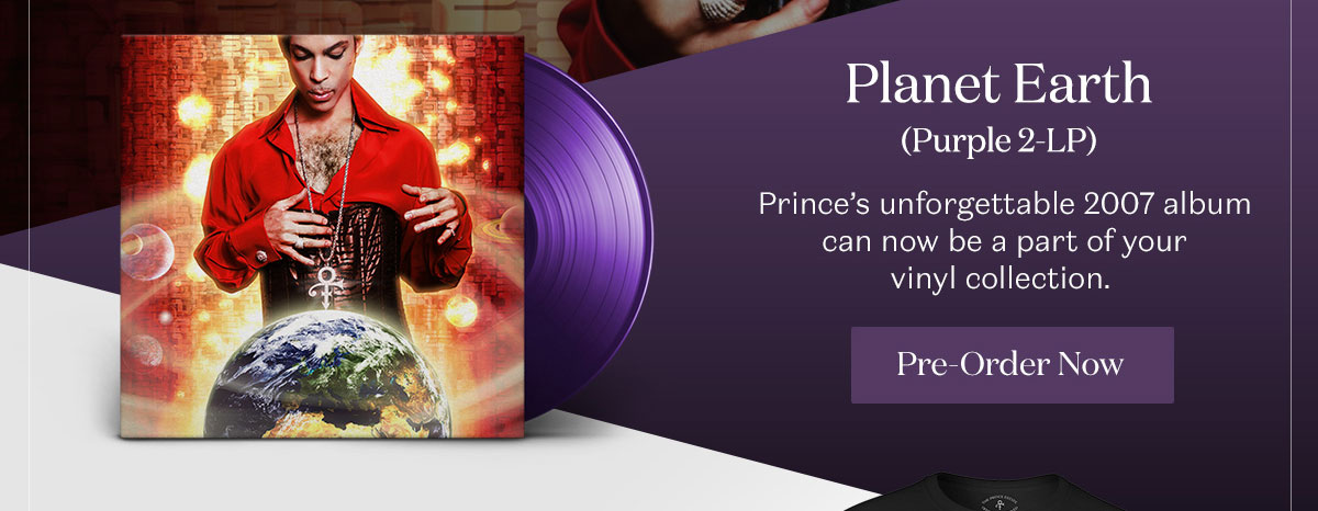 Planet Earth (Purple 2-LP). Pre-Order Now.d