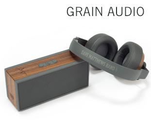 Grain Audio Headphones & Speaker