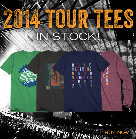 2014 Tour Tees In Stock Now!