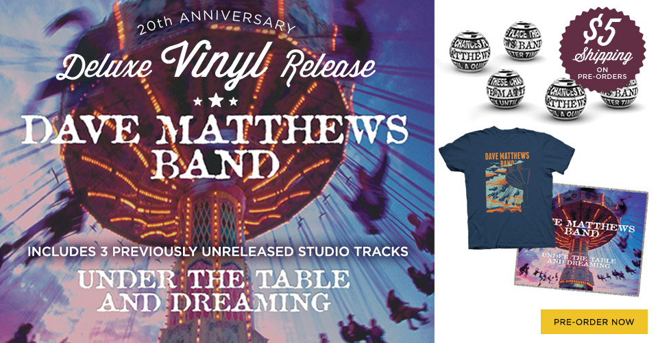 Pre-Order Under The Table And Dreaming