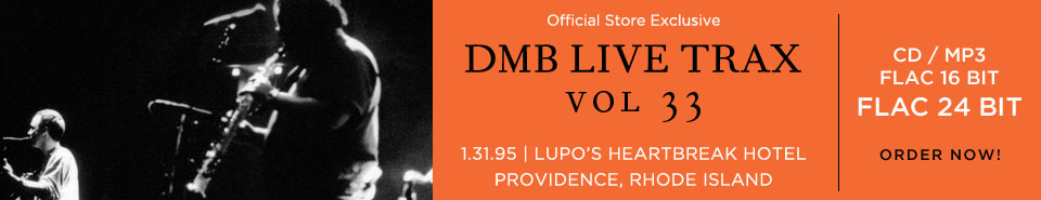 Live Trax Vol. 33 Available for Order Now!