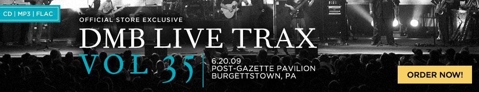 DMB Live Trax Vol. 35 Order Now!
