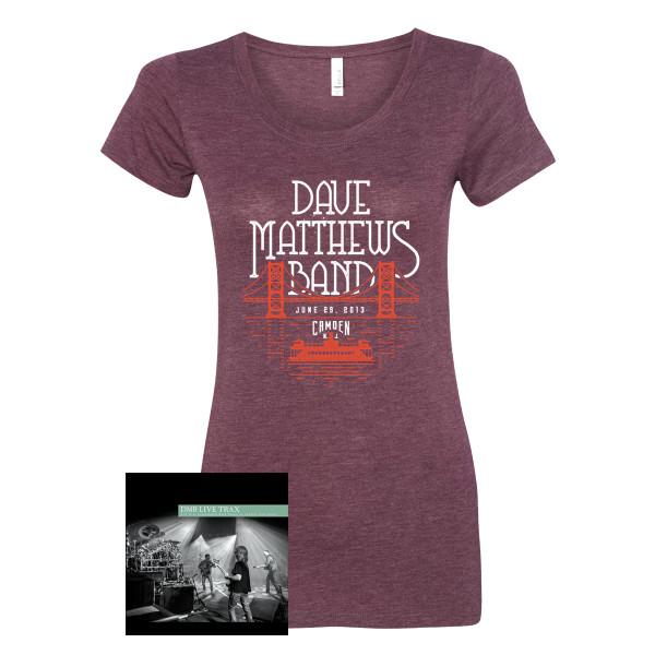 4499056c Live Trax Vol. 45 + Women's Tee | Shop the Dave Matthews Band ...