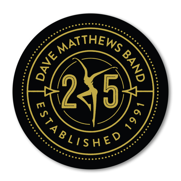 Dmb 25 Sticker Shop The Dave Matthews Band Official Store