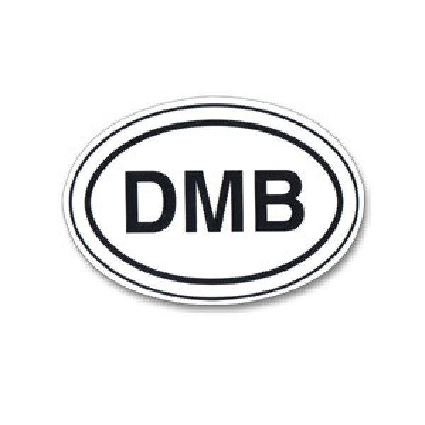 Dmb oval sticker shop the dave matthews band official store