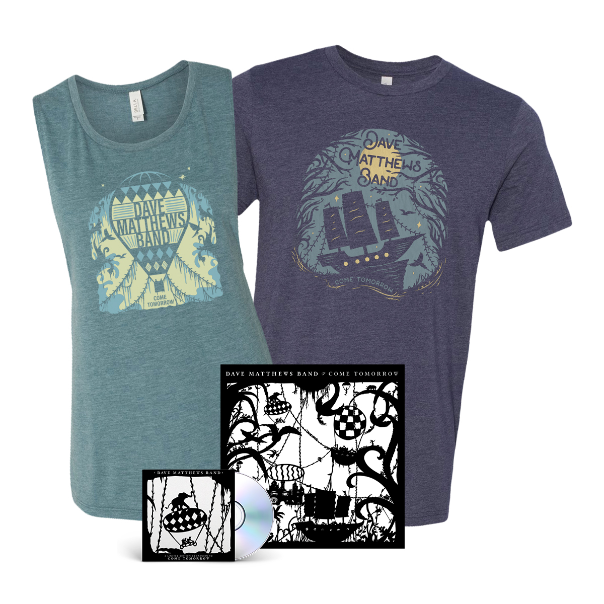 Come Tomorrow Album + Shirt Bundle