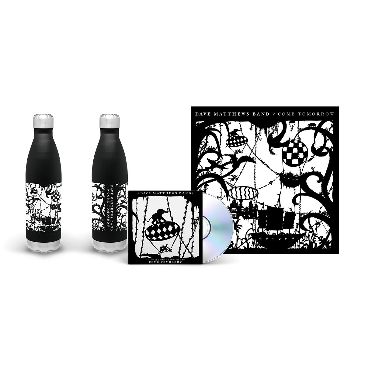 Come Tomorrow Album + Water Bottle Bundle