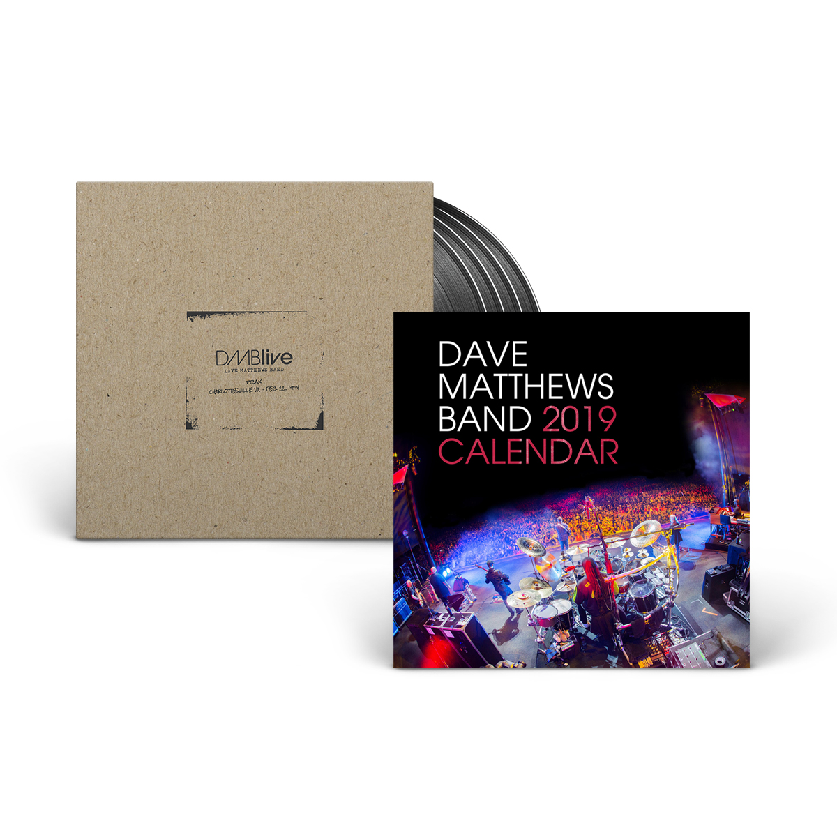 Dave Matthews Band - Trax Charlottesville, VA + Calendar Bundle