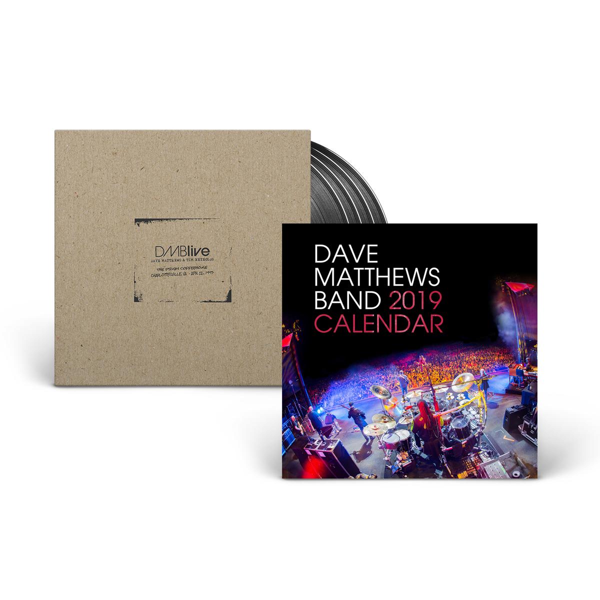 Dave Matthews and Tim Reynolds - Prism Coffee House + Calendar Bundle