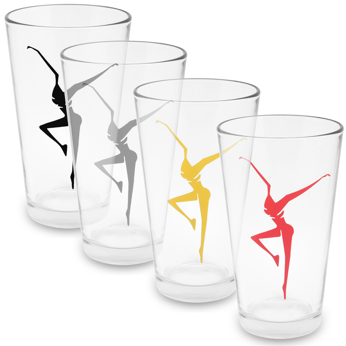 DMB Firedancer Printed Pint Glass - Set of 2