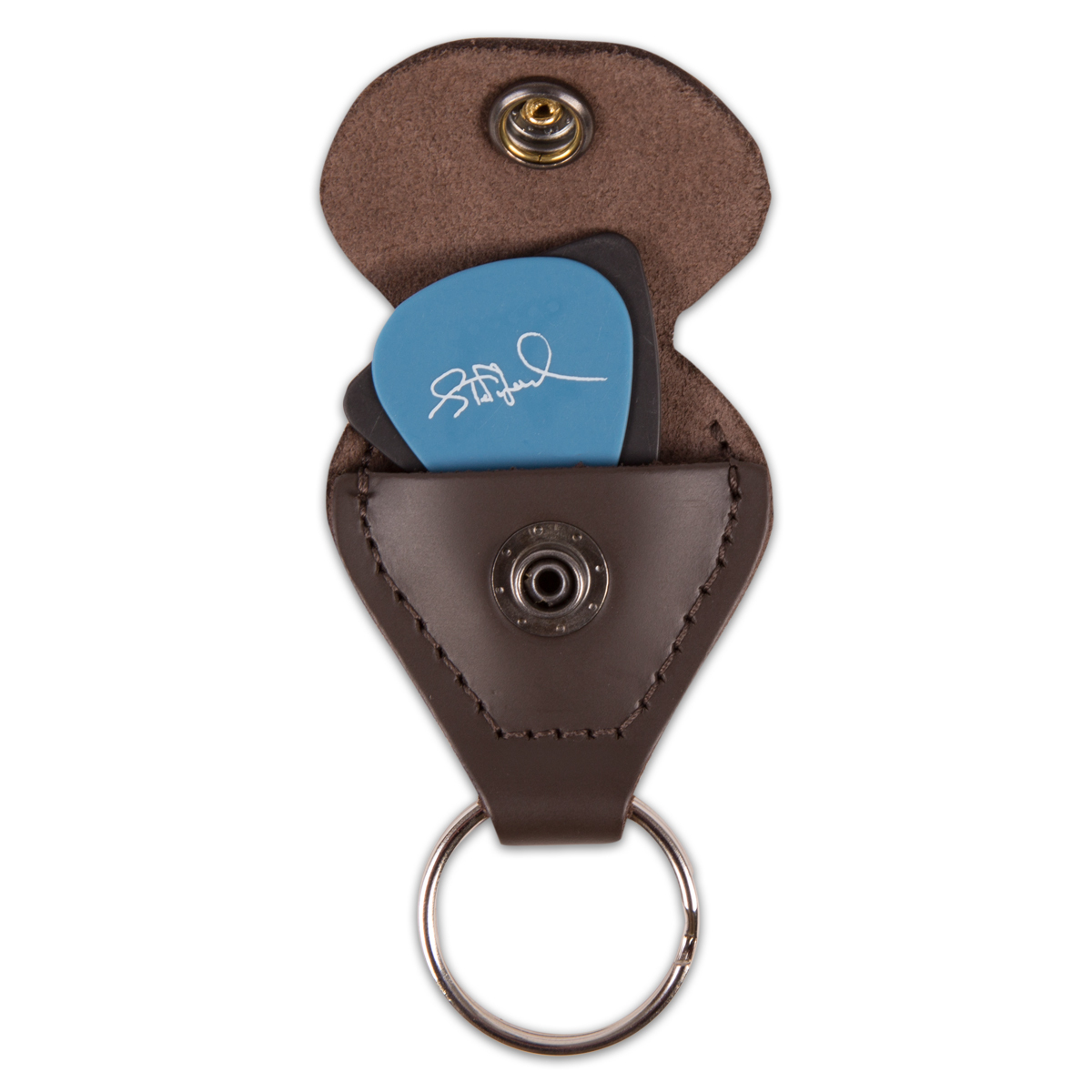 DMB Leather Guitar Pick Holder Keychain