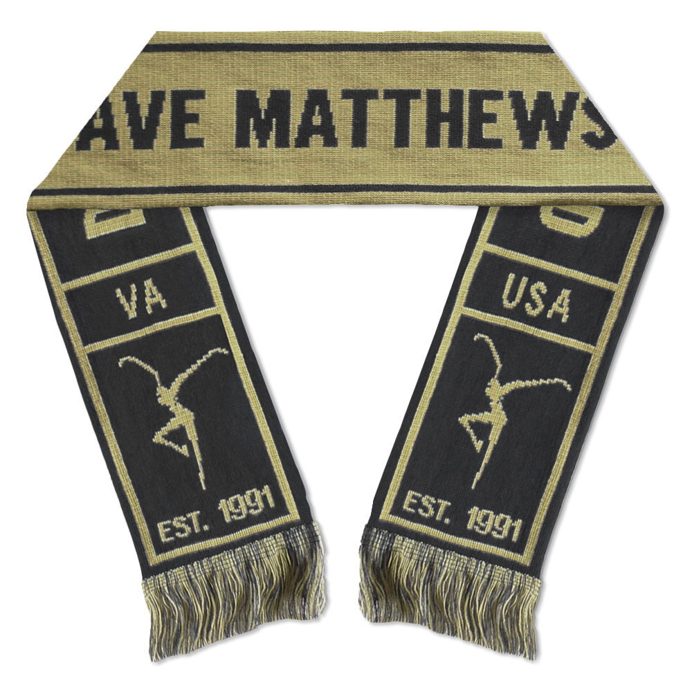 DMB Est. 91 Knit Scarf - Black/Tan
