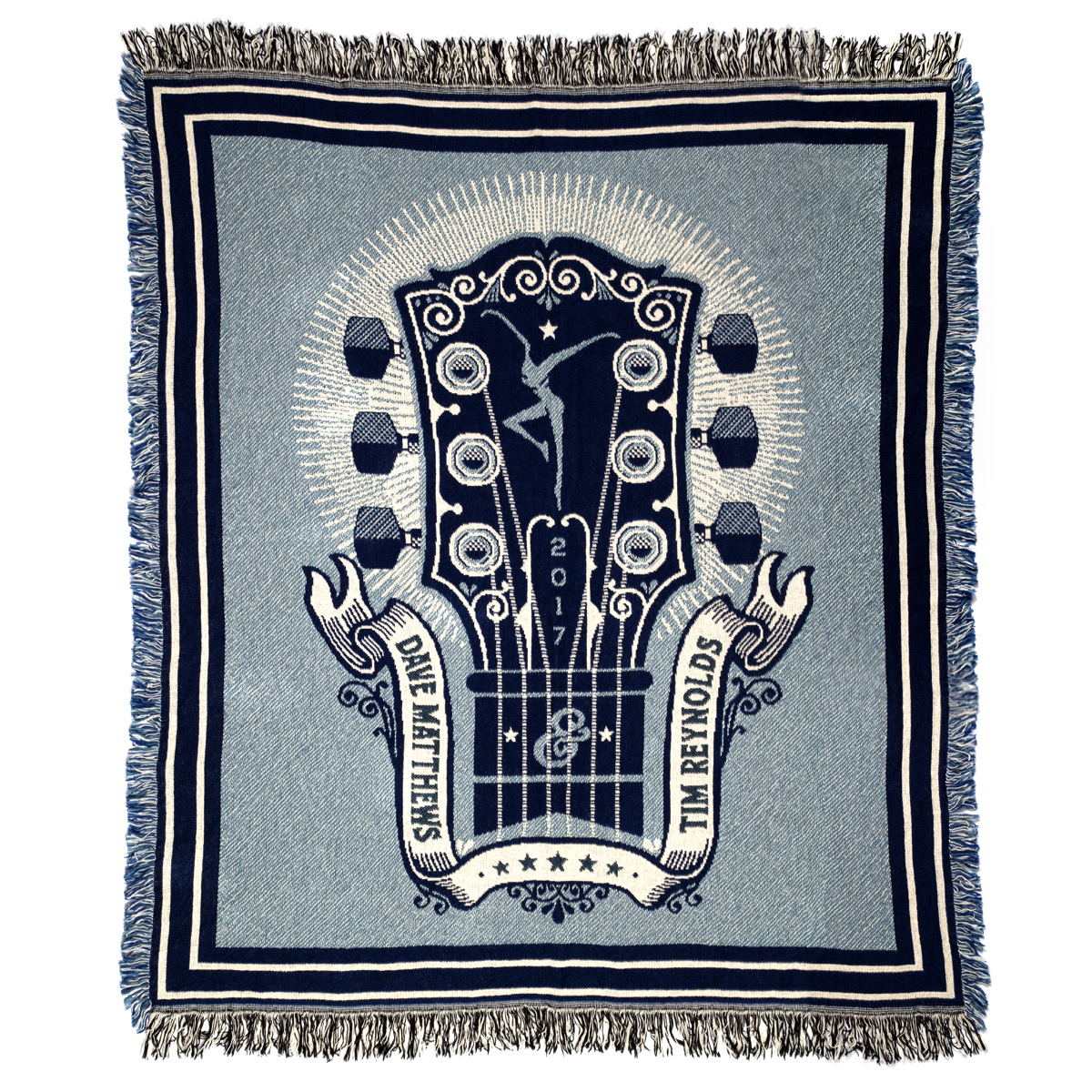 Dave and Tim 2017 Tour Blanket