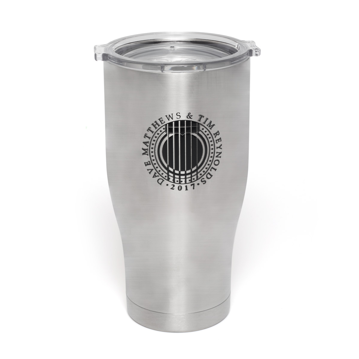 Dave & Tim Stainless Steel Travel Mug