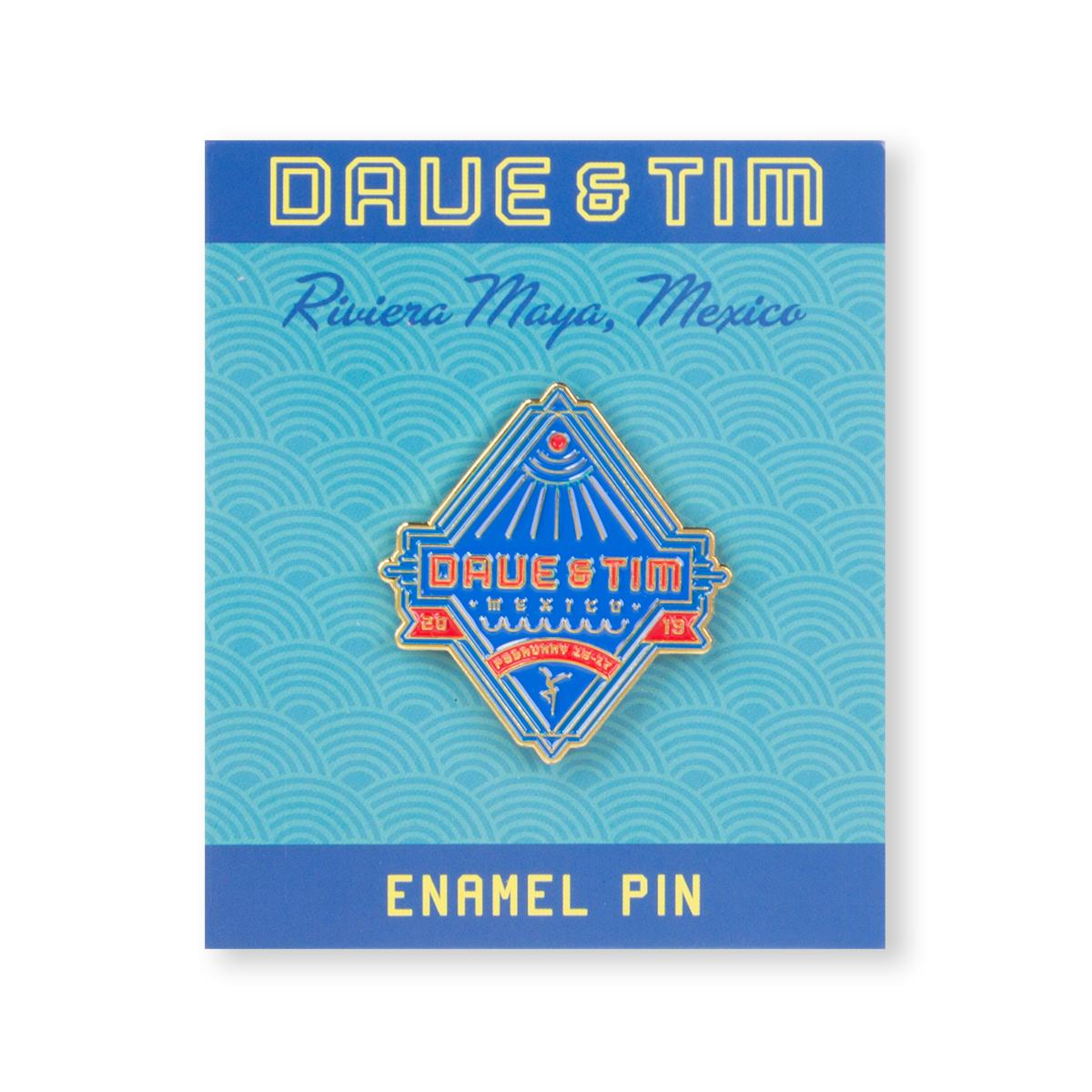 DAVE & TIM - RIVIERA MAYA 2019 PIN