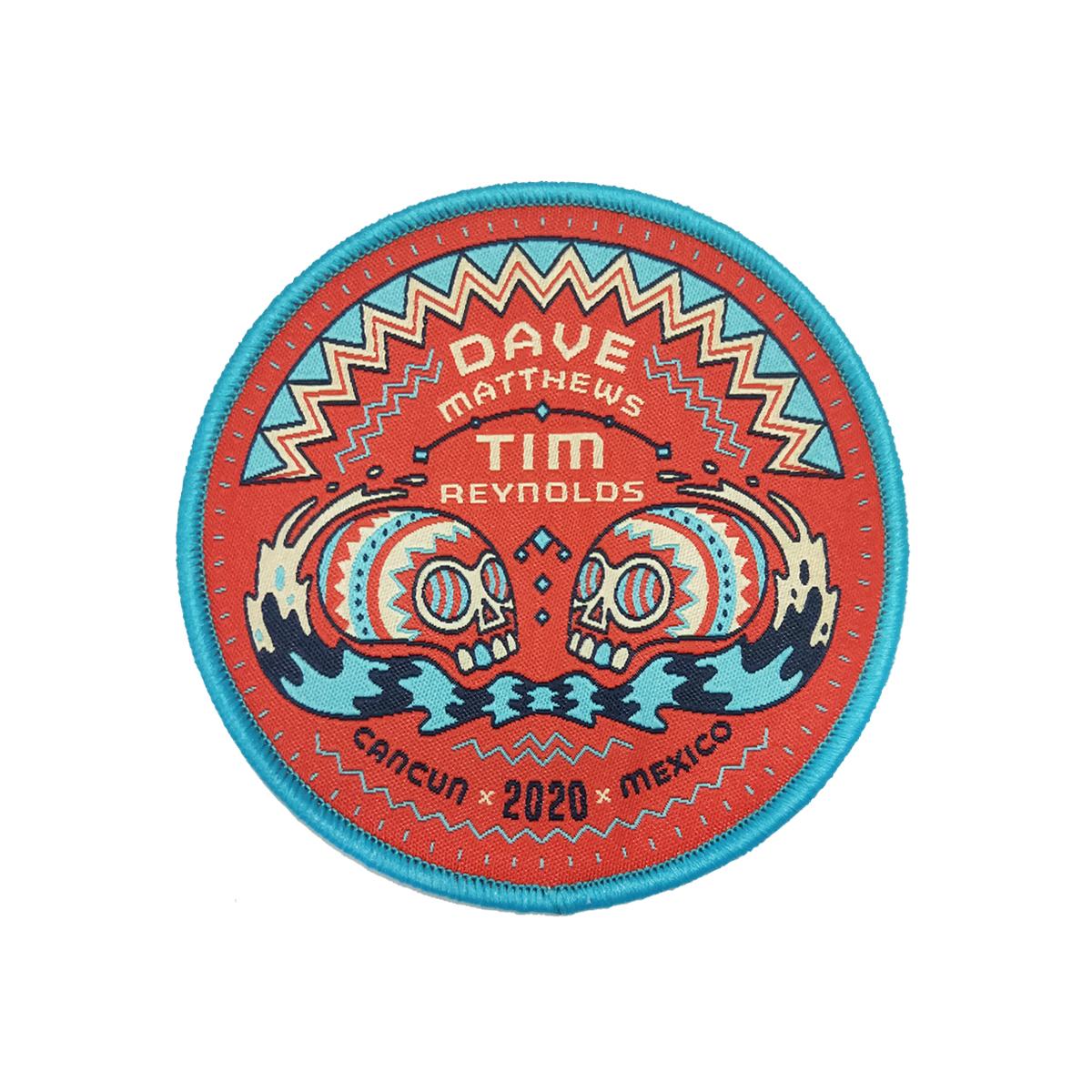 Dave & Tim - Cancun 2020 Sugar Skulls Patch