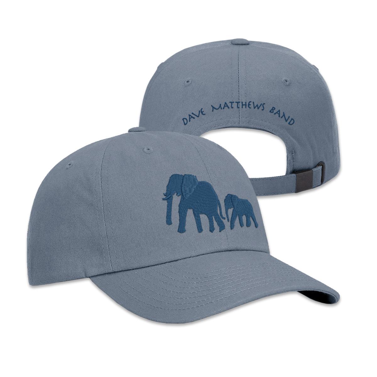 Elephant Dad Hat (Slate Blue)