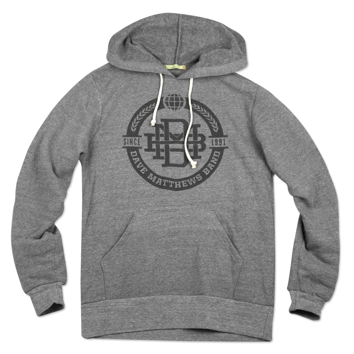 DMB Monogram Pullover Grey Hoodie