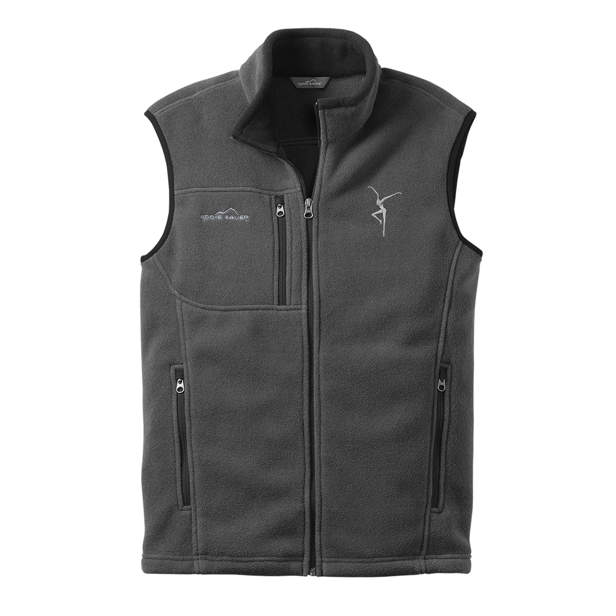 Firedancer Eddie Bauer Fleece Vest - Grey