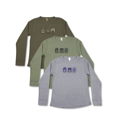 DMB Kids Singing Moles Thermal Shirt