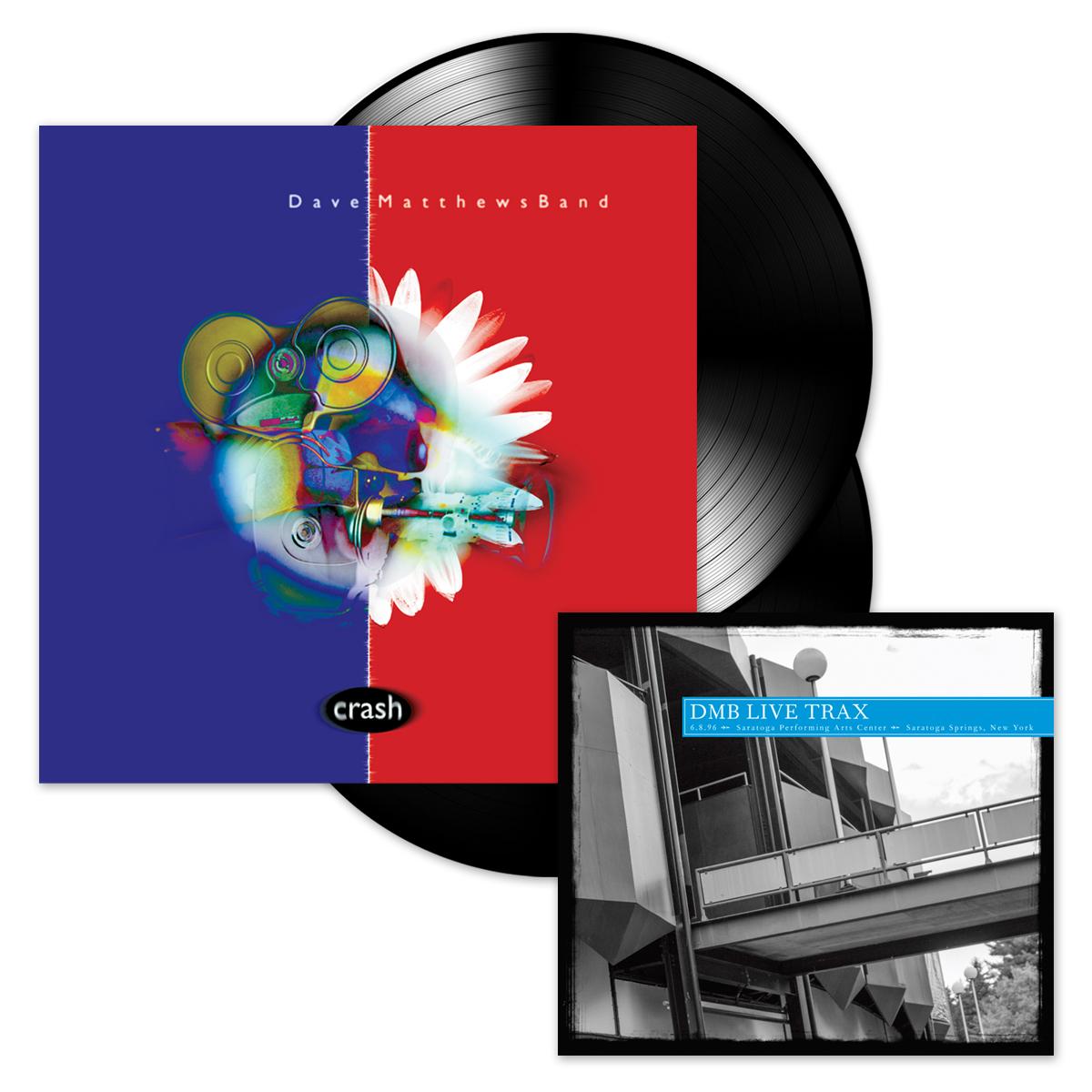 Crash 2-LP Vinyl + DMB Live Trax Vol. 38 CD
