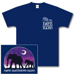 DMB Navy Elephant Shirt