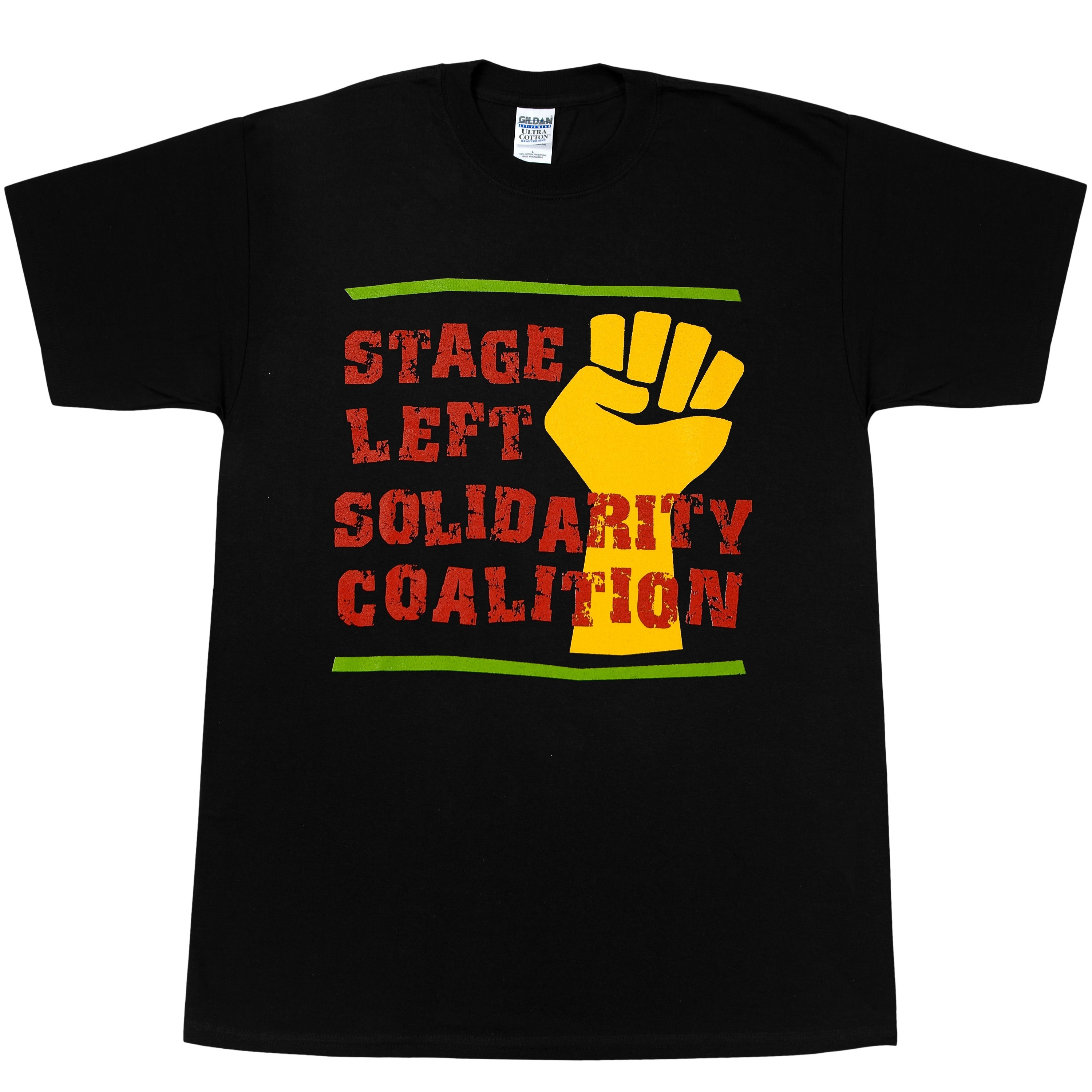 Stage Left Tri-Color Fist Shirt