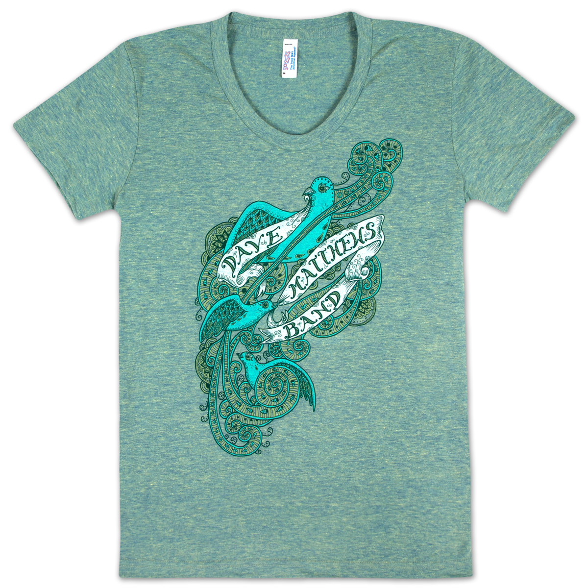 DMB 2013 Ladies Birds and Banners Shirt