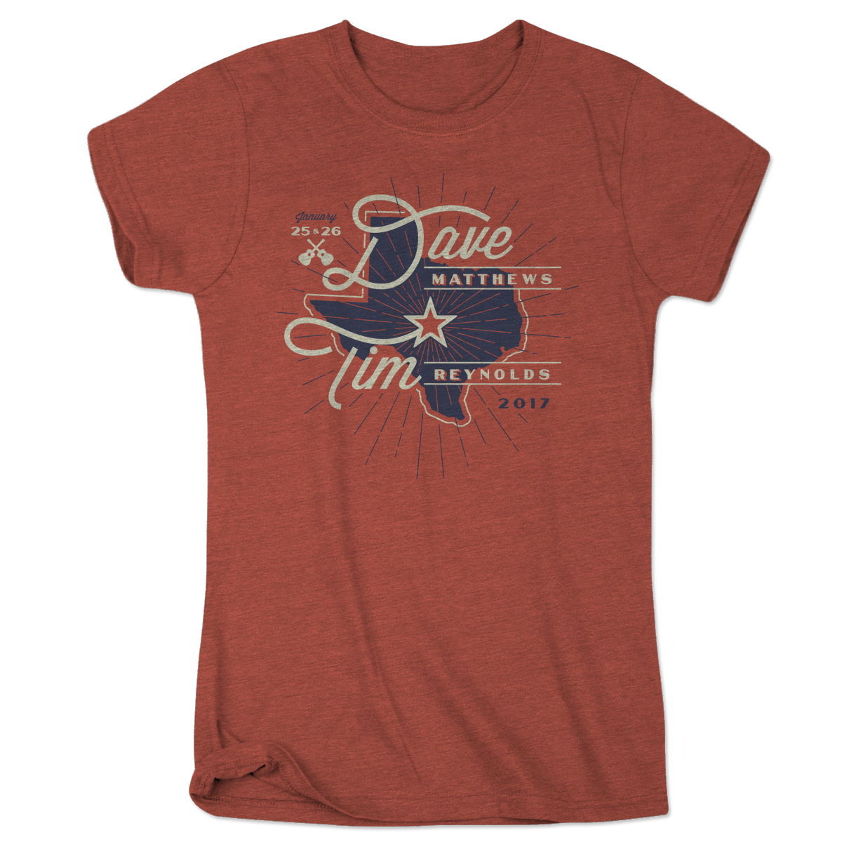 Dave and Tim Texas Ladies' Star Event Tee