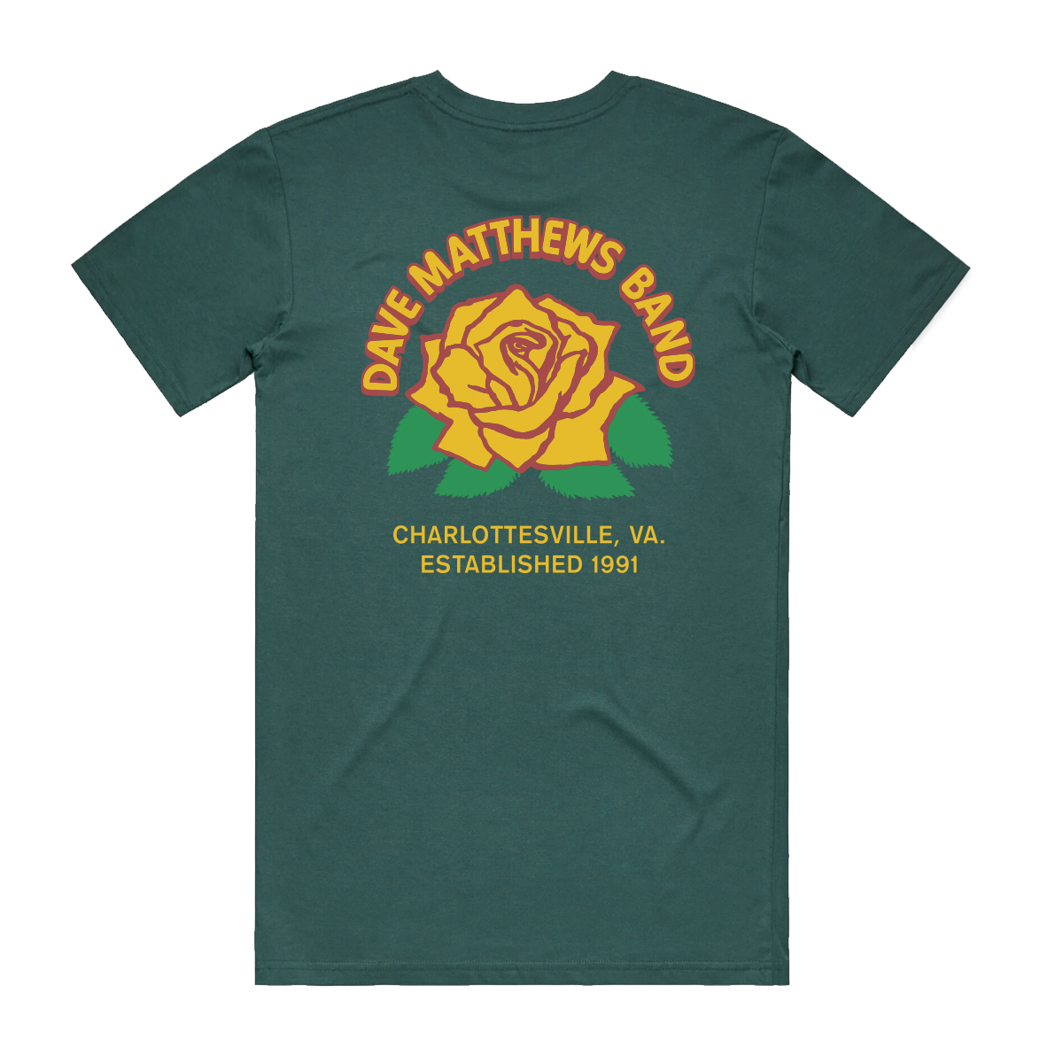 DMB Rose Tee - Spruce