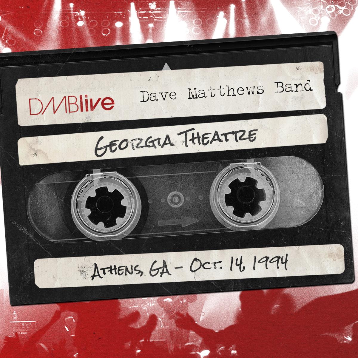 DMBLive Georgia Theatre, Athens, GA 10/14/1994