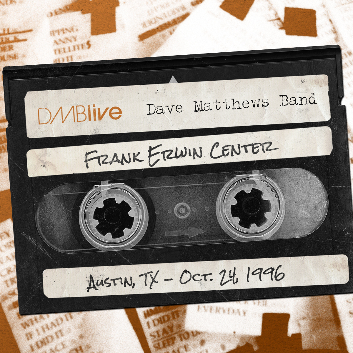 DMB Frank Erwin Center, Austin, TX 10/24/1996
