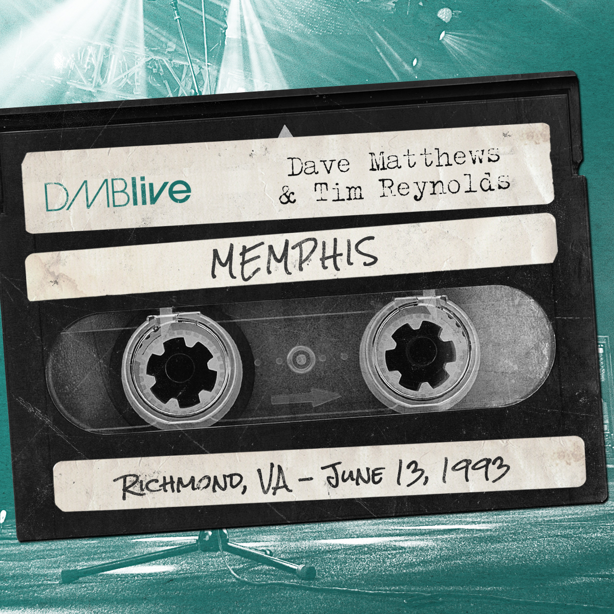 Dave Matthews & Tim Reynolds Memphis, Richmond, VA  6/13/1993