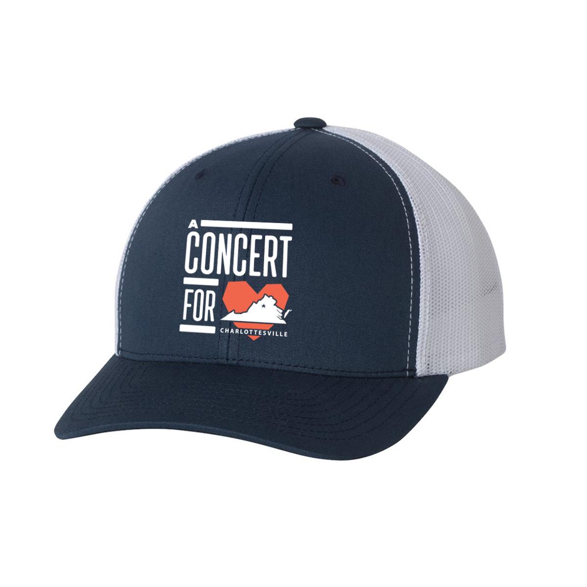 Concert for Charlottesville Trucker Cap
