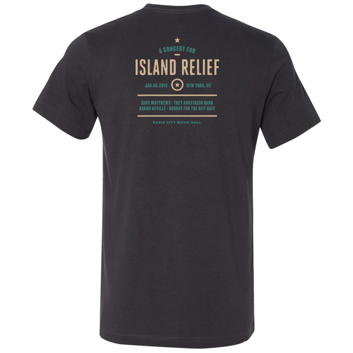 Concert for Island Relief Ocean Scene T-Shirt