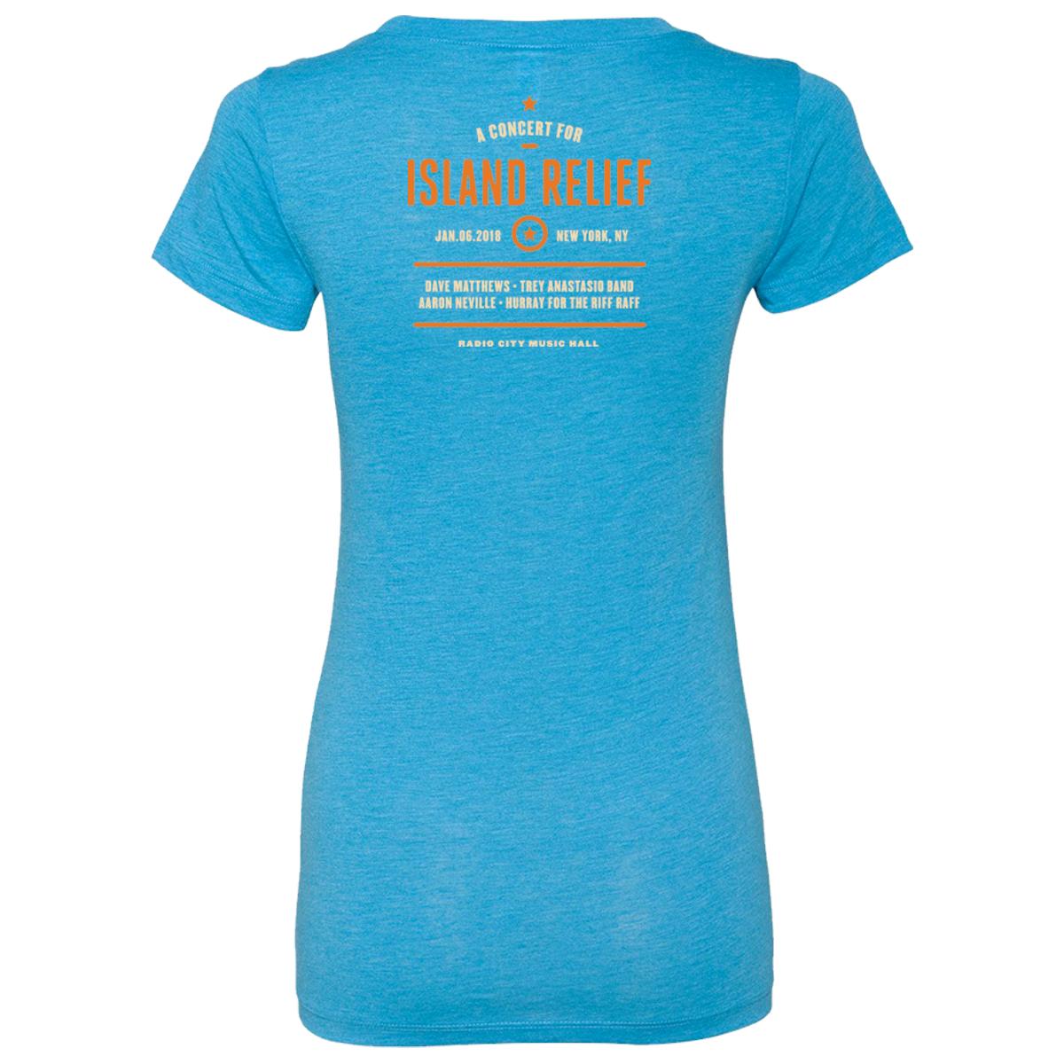 Concert for Island Relief Women's Anchor T-Shirt