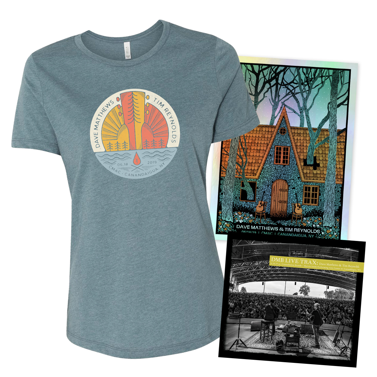 Live Trax Vol. 49 + Foil Poster + Women's T-shirt Bundle