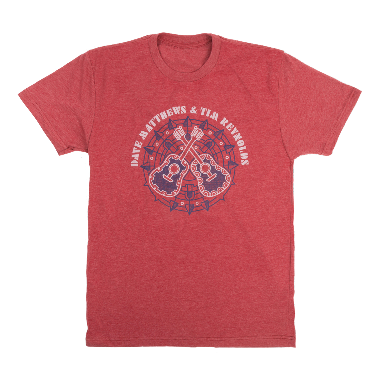 Dave & Tim Crossed Guitars Men's Tee