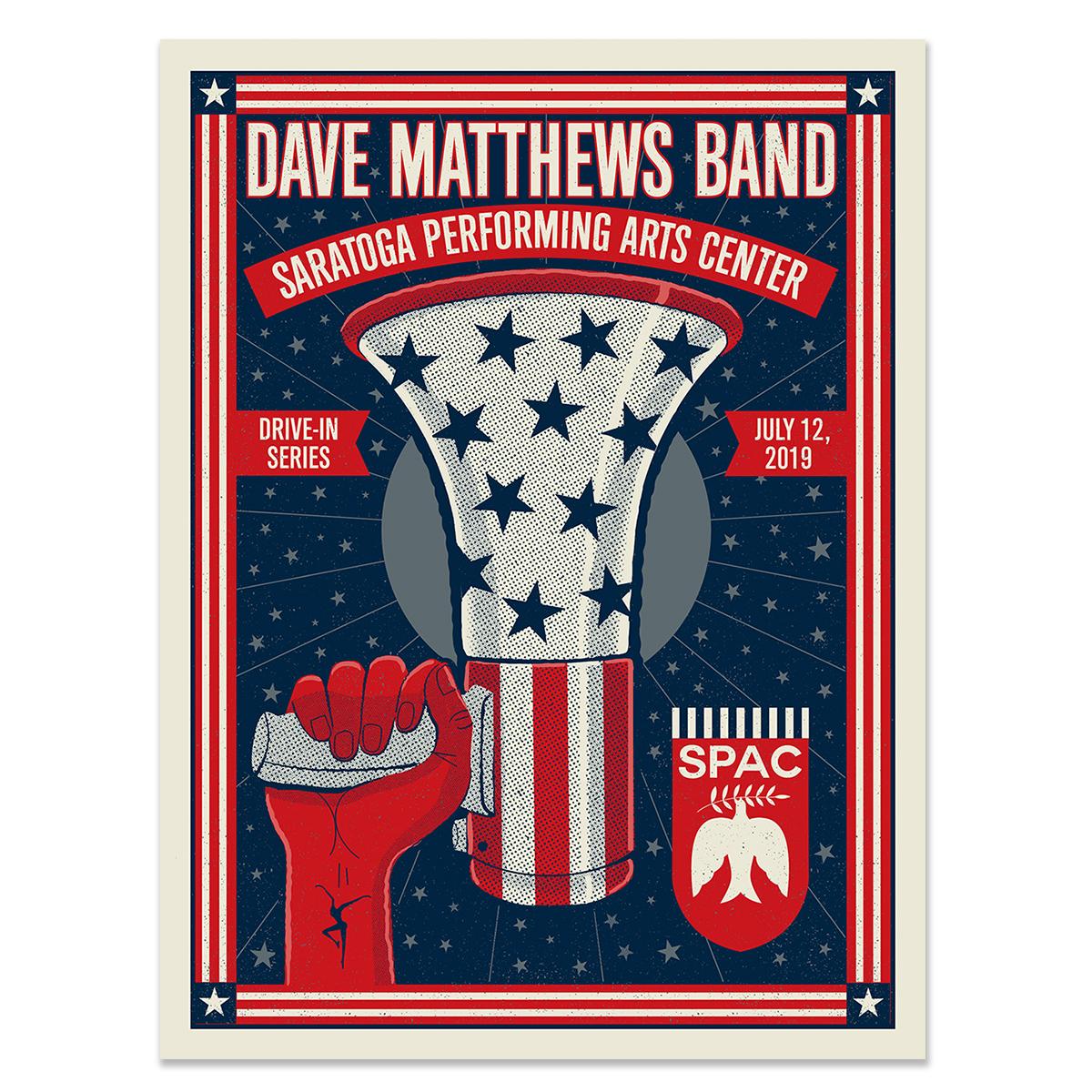 Drive-In Poster – Saratoga Springs, NY – 7/12/19
