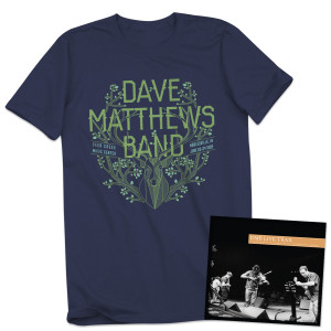 DMB Live Trax 34 - CD + Tee Bundle