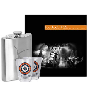 Live Trax Vol. 28 + Flask + 2 Shot Glasses