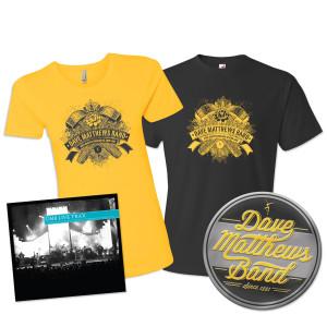 DMB Live Trax Vol. 35 + Tee + Metal Sign Bundle Pre-Order
