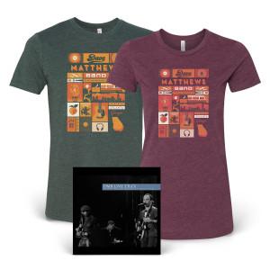 DMB Live Trax Vol. 43 + T-shirt Bundle