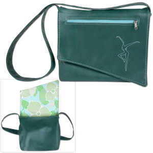 DMB Snap Design Shoulder Bag- Green