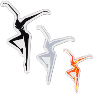 DMB 3 Piece Firedancer Magnet Set