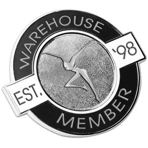 Warehouse Member Lapel Pin